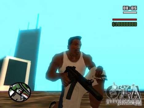 Gangster Weapon Pack для GTA San Andreas седьмой скриншот
