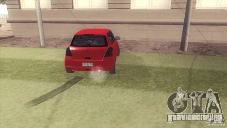 Suzuki Swift versión Chilena для GTA San Andreas вид слева