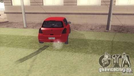Suzuki Swift versión Chilena для GTA San Andreas вид слева