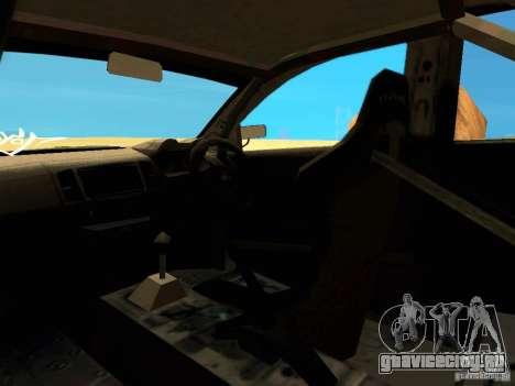 Mitsubishi Lancer Evolution X Time Attack для GTA San Andreas вид сверху