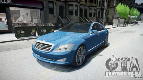 Mercedes Benz w221 s500 v1.0 sl 65 amg wheels для GTA 4