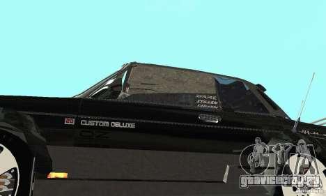 ВАЗ 2106 Fantasy ART tunning для GTA San Andreas вид изнутри