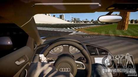 Audi R8 2008 для GTA 4 вид сзади