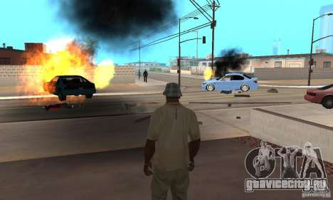 Hot adrenaline effects v1.0 для GTA San Andreas седьмой скриншот