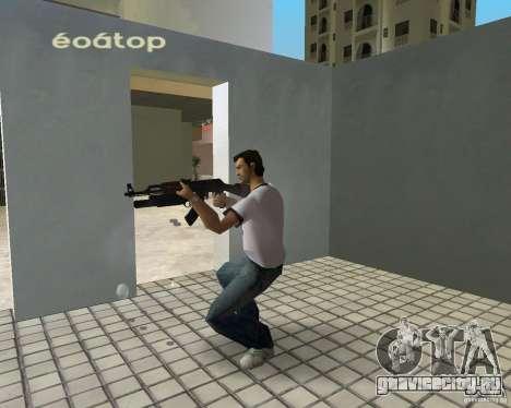 АК-47 с гранатометом М203 для GTA Vice City второй скриншот