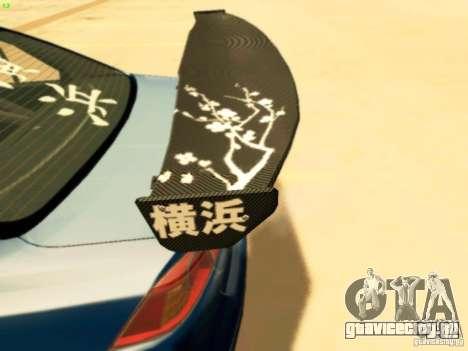 Mitsubishi Lancer Evolution X Time Attack для GTA San Andreas вид справа
