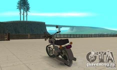 Восход 3 v1.0 для GTA San Andreas вид сзади слева
