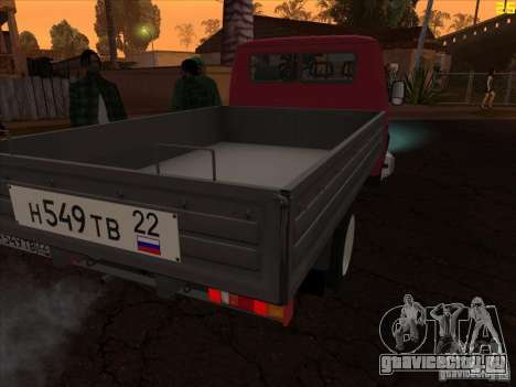 ГАЗель 33021 для GTA San Andreas вид слева