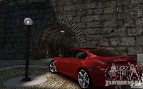 BMW M6 2010 v1.4 для GTA 4 вид сзади
