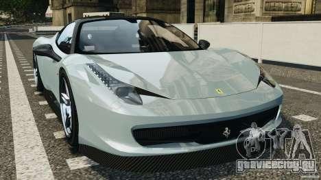 Ferrari 458 Italia 2010 [Key Edition] v1.0 для GTA 4