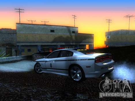 Dodge Charger SRT8 Police для GTA San Andreas вид слева