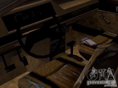 Авто 3 из CoD4-MW v2 для GTA San Andreas вид изнутри