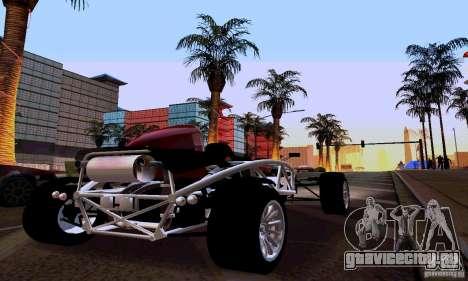 Ariel Atom для GTA San Andreas вид сзади слева