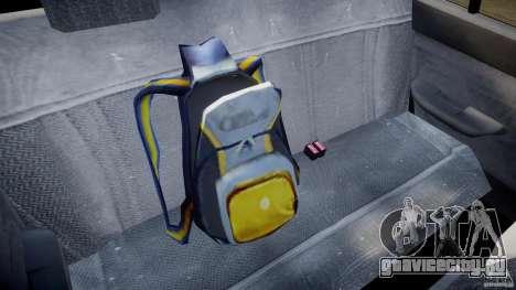 Mercury Tracer 1993 v1.0 для GTA 4 вид снизу