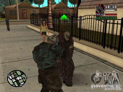 Локаст Theron Guard для GTA San Andreas пятый скриншот