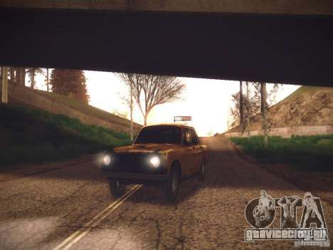 ENB v2 by Tinrion для GTA San Andreas второй скриншот