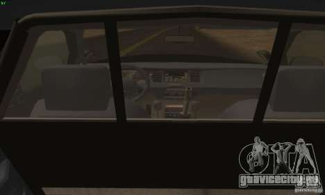Ford Crown Victoria Alaska Police для GTA San Andreas вид сзади слева