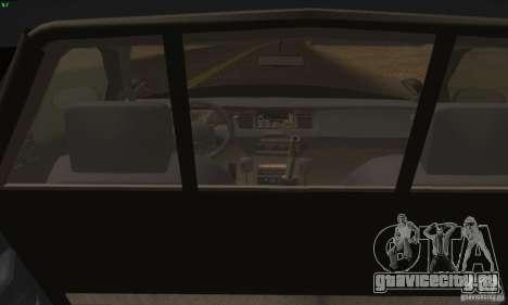 Ford Crown Victoria Alaska Police для GTA San Andreas вид сзади слева