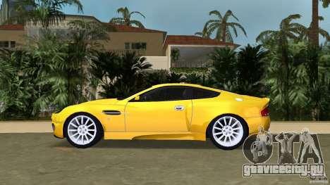 Aston Martin V12 Vanquish 6.0 i V12 48V v2.0 для GTA Vice City вид слева