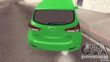 Hyundai ix20 для GTA San Andreas вид сзади слева