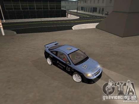 Chevrolet Cobalt Tuning для GTA San Andreas вид сзади