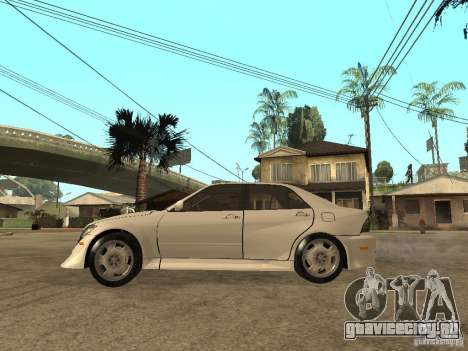 Lexus IS300 NFS Carbon для GTA San Andreas вид слева