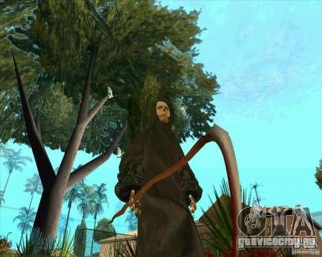 Смерть с косой для GTA San Andreas пятый скриншот