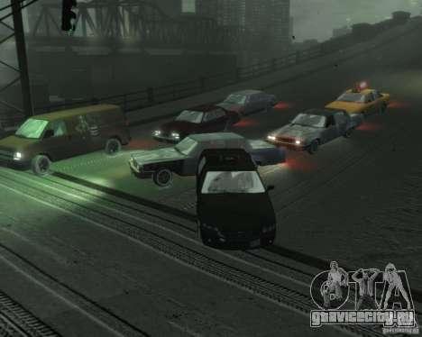 Winter Handling для GTA 4 четвёртый скриншот