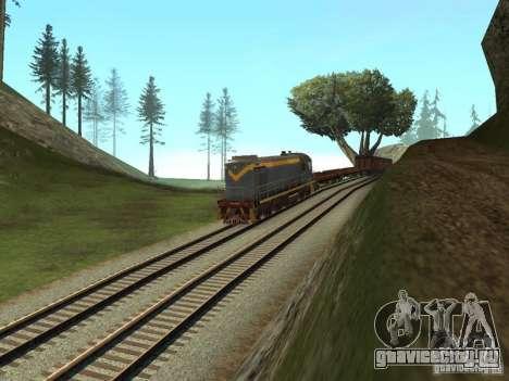 ТЭМ1М-1836 для GTA San Andreas вид справа