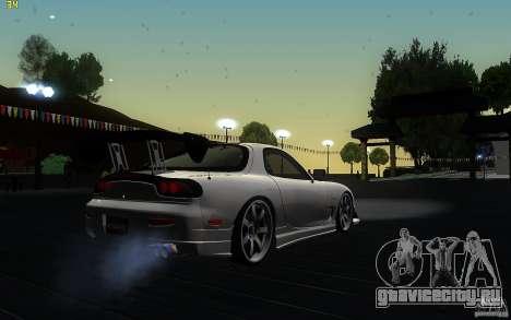 Mazda Rx7 C-West для GTA San Andreas вид справа