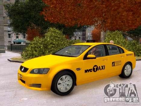 Holden NYC Taxi V.3.0 для GTA 4 вид сбоку