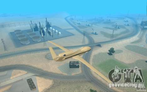 Grumman RQ-4 для GTA San Andreas вид слева