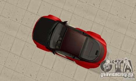 Mitsubishi Eclipse - Tuning для GTA San Andreas вид справа