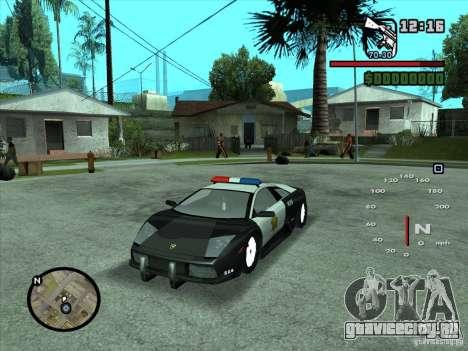 Lamborghini Murcielago Police для GTA San Andreas