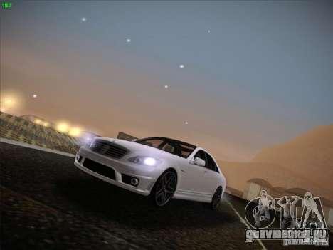 Mercedes-Benz S65 AMG V2.0 для GTA San Andreas