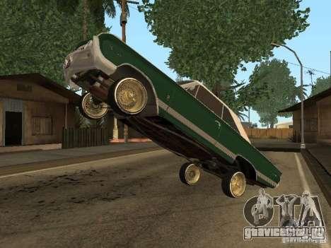 Mercury Park Lane Lowrider для GTA San Andreas вид справа