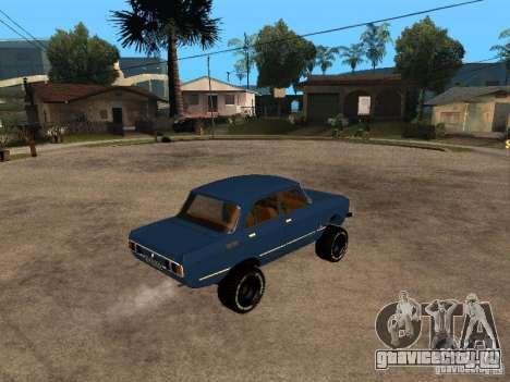 Москвич 412 - 4x4 для GTA San Andreas вид справа