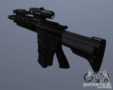 Автоматическая винтовка HK416 для GTA San Andreas пятый скриншот
