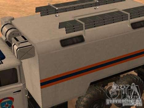 Урал 4320 МЧС для GTA San Andreas вид справа