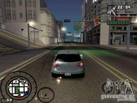 Огонь из выхлопов V2.0 для GTA San Andreas четвёртый скриншот