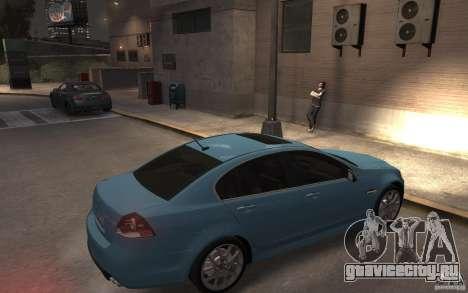 Pontiac G8 GXP для GTA 4 вид справа
