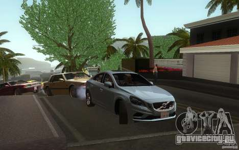 Volvo S60 2011 для GTA San Andreas вид справа