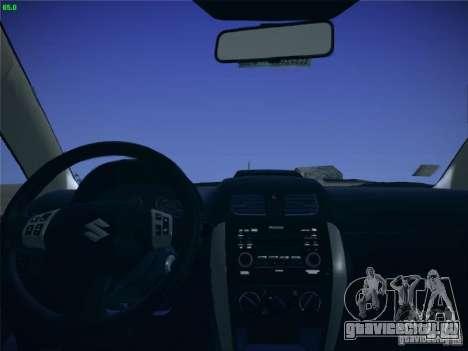 Suzuki SX4 2012 для GTA San Andreas вид справа