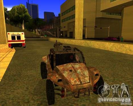 Desert Bandit для GTA San Andreas вид справа