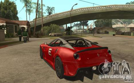 Ferrari 599xx 2010 для GTA San Andreas