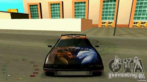 Еlegy by fen1x для GTA San Andreas вид справа