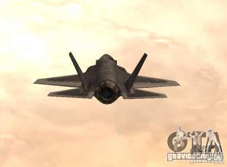 F-35 Eagle для GTA San Andreas вид слева