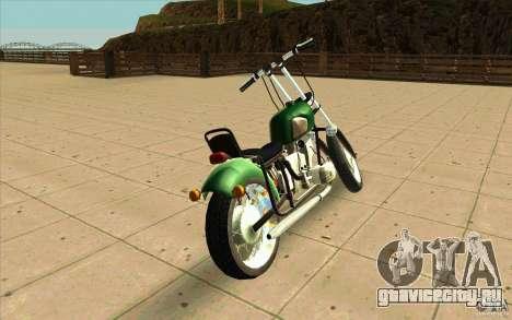 Днепр Зверь v2 Ольга для GTA San Andreas вид сзади слева