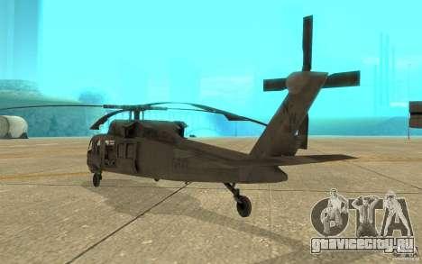 UH-80 для GTA San Andreas вид справа