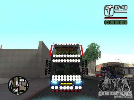 Neoplan для GTA San Andreas вид слева